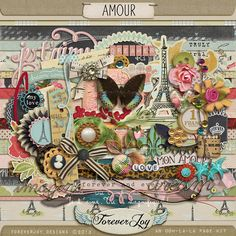 Amour by ForeverJoy Designs  Shop @ Oscraps:  http://www.oscraps.com/shop/home.php?cat=536