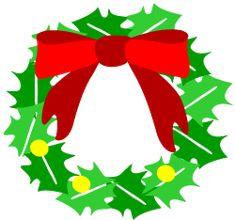 Christmas wreath clipart | clip art collection of christmas wreaths christmas wreath clip art ...