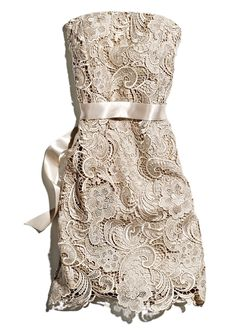 Lace fabrics #Marshalls - I have this dress and I love it!!!