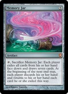 Memory-Jar-FOIL-x1-Magic-the-Gathering-1x-From-the-Vault-Relics-mtg-card