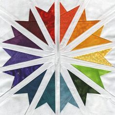 Starlight Converging - Paper Piecing