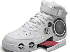 CD player shoes. Everybody should own a pair.