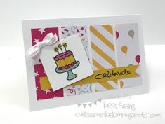 Endless Birthday Wishes Card :: Confessions of a Stamping Addict