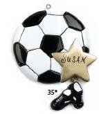 TOPSELLER! Personalized Sports Soccer Ball Chris... $6.01