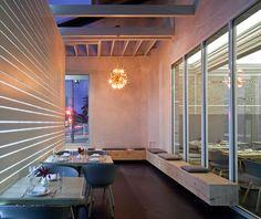 'Littlefork' restaurant by Sean Knibb for Knibb Design (US)