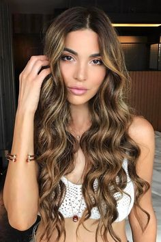 We ENVY Negin Mirsalehi's hair.. we'll do anything to get that perfect mane.