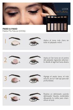 Natura Cosmetics - Makeup Portal - Step by Step Peach Eyeshadow, Eyeshadow Looks, Diy Makeup, Makeup Tips, Winged Eyeliner, Makeup Goals, Halloween Make Up, Natural Makeup, Makeup Cosmetics
