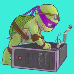 Donnie (tmnt) by Pax77Vibiscum7Astras.deviantart.com on @deviantART