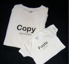 Is Dad a bit of a tech geek? He'll love these Father's Day shirts! These T-shirts even come with free printables!
