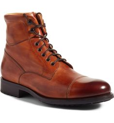 c21e4d394837 Free shipping and returns on Magnanni Peyton Cap Toe Boot (Men) at  Nordstrom.