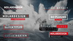 Get this here: https://motionarray.com/after-effects-templates/modern-glitch-titles-30799  Modern Glitch Titles is a lower thirds and titles template for After Effects. Featuring 8 unique and trendy glitch titles. Quickly and easily replace the text and edit the color. Use these on sports, trailers, corporate video, broadcast or video blogs. Create clean and simple titles on your next exciting video. Available in 4K and HD.