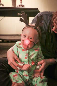 "Sweet little reindeer ""Indy"" such a sweet girl!"