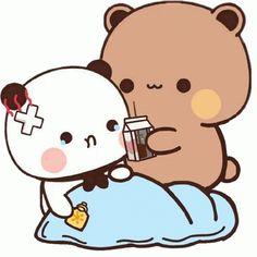 Cute Anime Cat, Cute Bunny Cartoon, Cute Kawaii Animals, Cute Couple Cartoon, Cute Cartoon Pictures, Cute Love Pictures, Cute Panda Wallpaper, Cute Disney Wallpaper, Cute Cartoon Wallpapers