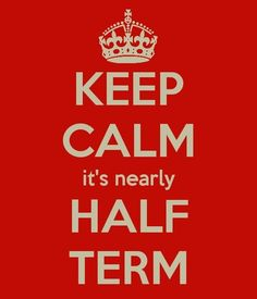 One for all the school workers out there - repin if you're waiting for half-term!!