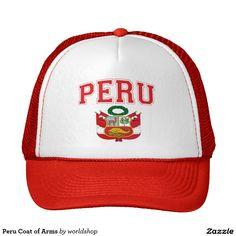 Escudo de armas de Perú Gorro De Camionero Escudo Peru 4b2b71a1cdd