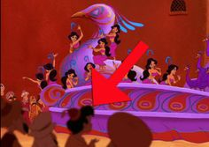 Which Random Disney Background Character Are You? This kid from Aladdin