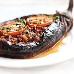 Middle Eastern Stuffed Eggplant recipe