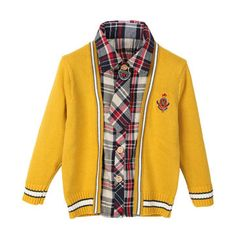 Only US$18.19 , shop Baby Children Boys Wool Bow Thick Tie Plaid Sweater at Banggood.com. Buy fashion Tops & T-shirt online.