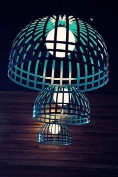 Restaurant and Bar Design Awards - Entry Cool Chandeliers, Chandelier Lighting, Restaurant Design, Restaurant Bar, Light Art, Lamp Light, Creative Lamps, Bar Design Awards, Facade Architecture