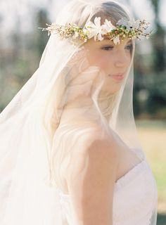 DIY Wedding Flower Crown | DIY Wedding Head Floral Crown