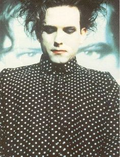 robert smith  The coolest man alive.  No!  No he is not goth!!