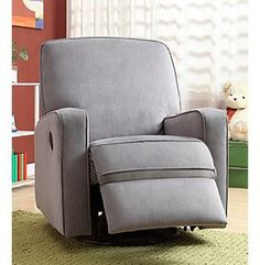 Awe Inspiring The Crawford Taupe And Cream Fabric Modern Nursery Swivel Short Links Chair Design For Home Short Linksinfo