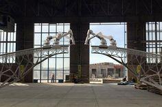Un robot imprimirá un puente de acero en Amsterdam