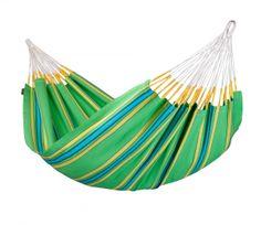 LA SIESTA - Grüne Hängematte aus Baumwolle