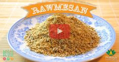 ¿Conoces el Rawmesan? Es el queso parmesano rallado vegano que potenciará el sabor de nuestras comidas, llevándolas a otro nivel de sensaciones en nuestro paladar. Nutrición Consciente ♥ Receta Cocina de Transición