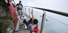 Otro puente de cristal maravilla a China y al mundo - http://www.absolut-china.com/puente-cristal-maravilla-china-al-mundo/
