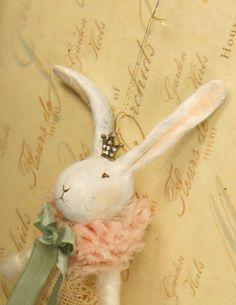 Victorian Rabbit by sugarcookiedolls on Etsy, $36.00
