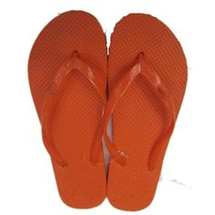 2069b4f41 Custom flip flops with your logo on the sole. Feet slip right into the vinyl