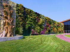 O maior jardim vertical do mundo, fica em um shopping em Rozzano, na Itália.