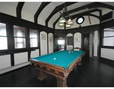 Ultimate billiards room