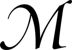 Αποτέλεσμα εικόνας για sierlijke letter m