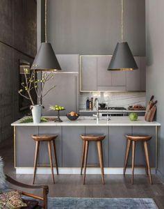 cocina minimalista integral