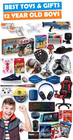 Tons Of Great Gift Ideas For 12 Year Old Boys Christmas Gifts 10