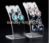China acrylic plexiglass company hot selling acrylic display racks wholesale display earrings JDK-063