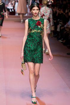 Dolce & Gabbana Fall 2015 Ready-to-Wear Fashion Show - Anastasia Lagune