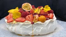 Foto: Marit Hegle Pavlova, Cheesecakes, Tapas, Cake Recipes, Strawberry, Food And Drink, Gluten Free, Sweets, Cookies