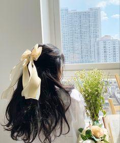 Kawaii Hairstyles, Pretty Hairstyles, Hair Inspo, Hair Inspiration, Pelo Vintage, Ulzzang Hair, Pretty Korean Girls, Jolie Photo, Aesthetic Hair