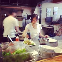We highly recommend you check out Kimbap! This Tuesday we visited the hip restaurant for luncheon. Mouthwatering Korean food with the freshest ingredients. Keep in mind Taco Tuesdays (beef or tofu!) #koreanfood #raleighnc #downtownraleigh #seaboardstation #koreantacos #delicious #instafood #foodforthought #MRCraleigh