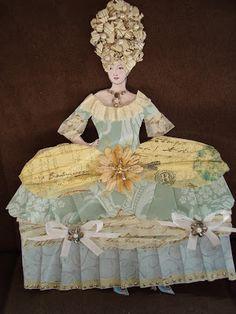 Paper Doll - Marie Antoinette