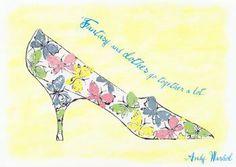 Andy Warhol shoe illustration for Dior Andy Warhol, Pittsburgh, Butterfly Shoes, Beauty Illustration, Shoe Illustration, Pop Art Movement, Damien Hirst, Arte Popular, Shoe Art