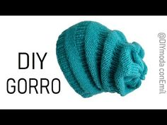 Cómo tejer gorro caído a dos agujas paso a paso - YouTube Knitting For Kids, Loom Knitting, Knitting Projects, Knitted Hats, Crochet Hats, Winter Hats, Clip Art, Pattern, Ideas
