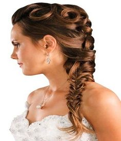 Fishtail Braid Hairstyles For Prom