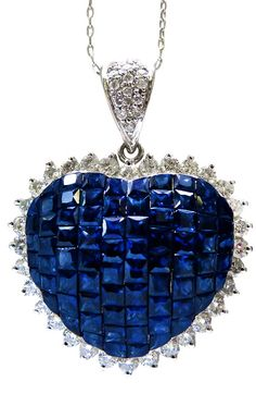 Heart Sapphire Pendant by Tiffany