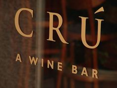 Cru Wine Bar ~ The Shops at Legacy ~ Plano, TX-love love love thid place