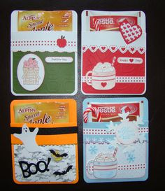 Stampin Up Hot Chocolate Pocket Card Teacher Halloween Christmas Valentine | eBay