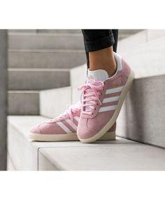 size 40 f0caa d43e3 Adidas Gazelle W Wonder Pink Ftwr White Gold Metallic Trainer UK Cheap Sale